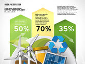 Big+ben: Green Presentation Template with Infographics #02957
