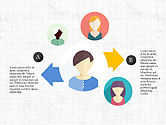 Stage Diagrams: People and Process Diagrams #03858