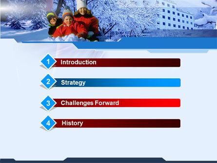 Free Winter PowerPoint Template Slide 3