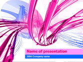 Abstract/Textures: Free Wires PowerPoint Template #00064