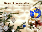 Holiday/Special Occasion: Christmas Presents PowerPoint Template #00175