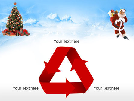 Free Christmas PowerPoint Template, Xmas Slide 10