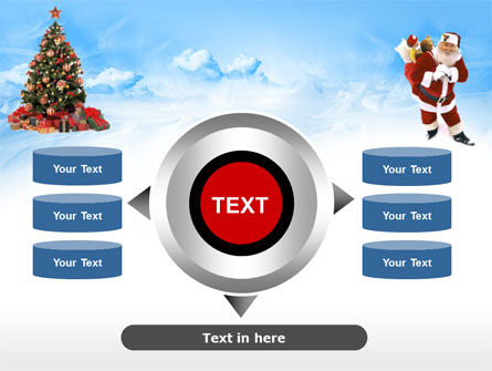 Free Christmas PowerPoint Template, Xmas Slide 12