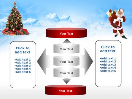 Free Christmas PowerPoint Template, Xmas Slide 13