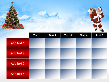 Free Christmas PowerPoint Template, Xmas Slide 15