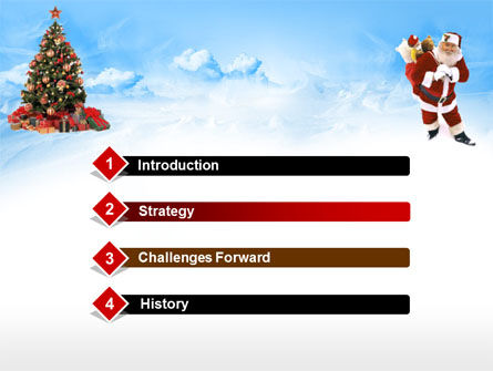 Free Christmas PowerPoint Template, Xmas Slide 3