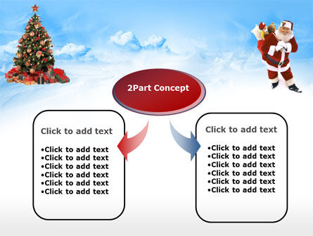Free Christmas PowerPoint Template, Xmas Slide 4