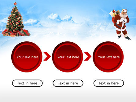 Free Christmas PowerPoint Template, Xmas Slide 5