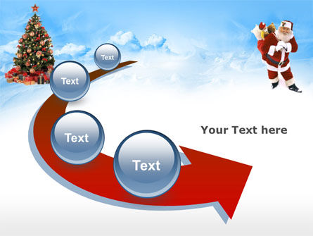 Free Christmas PowerPoint Template, Xmas Slide 6