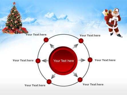 Free Christmas PowerPoint Template, Xmas Slide 7