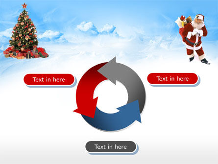 Free Christmas PowerPoint Template, Xmas Slide 9