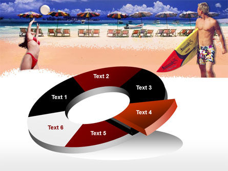 Free Surfing Beach PowerPoint Template Slide 19