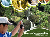 Abstract/Textures: Free Rain Forest Studying PowerPoint Template #00240
