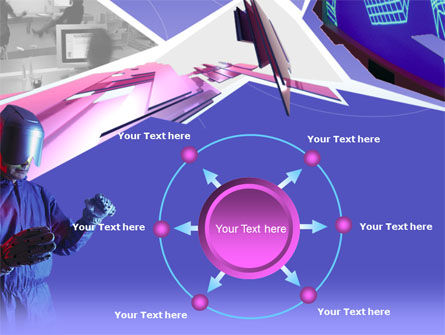 Free Virtual Reality PowerPoint Template Slide 7