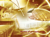 Religious/Spiritual: Christianity Triumph  PowerPoint Template #00427