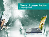 Study+abroad: Scientific Experiment PowerPoint Template #00514