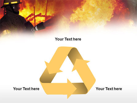 Free Fireman PowerPoint Template Slide 10