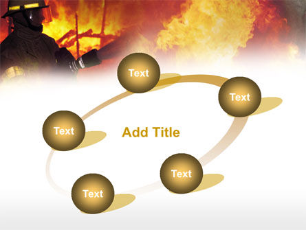 Free Fireman PowerPoint Template Slide 14