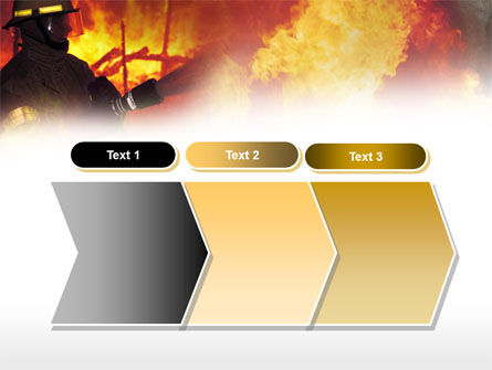 Free Fireman PowerPoint Template Slide 16