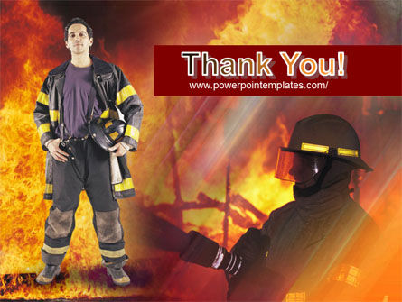 Free Fireman PowerPoint Template Slide 20