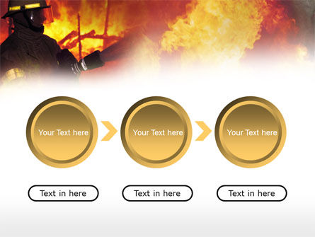 Free Fireman PowerPoint Template Slide 5