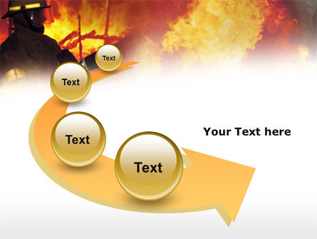 Free Fireman PowerPoint Template Slide 6
