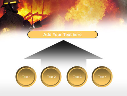 Free Fireman PowerPoint Template Slide 8