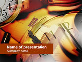 Business Concepts: Business Timing And Planning PowerPoint Template #00604