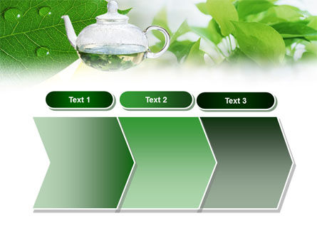 Green Tea PowerPoint Template Slide 16