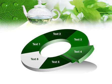 Green Tea PowerPoint Template Slide 19