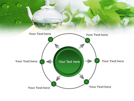 Green Tea PowerPoint Template Slide 7