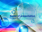 Abstract/Textures: Free Binary Bubbles PowerPoint Template #01007