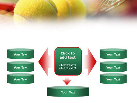 Tennis Balls And Rackets PowerPoint Template Slide 13