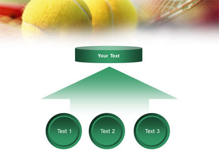 Tennis Balls And Rackets PowerPoint Template Slide 8