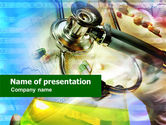 Geriatric+nursing: Medical Checkup PowerPoint Template #01193
