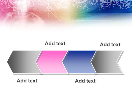 Rainbow Color Theme PowerPoint Template Slide 16
