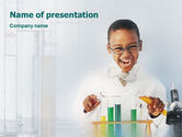 Education & Training: Chemistry Experiment PowerPoint Template #01598