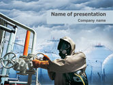 Nature & Environment: Chemical Industry PowerPoint Template #01720