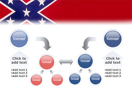 The Battle Flag of the Confederacy PowerPoint Template Slide 19