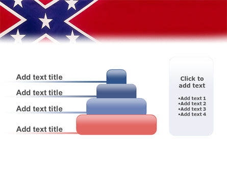 The Battle Flag of the Confederacy PowerPoint Template Slide 8