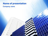 Construction: City Construction PowerPoint Template #01853
