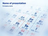 Technology and Science: Periodic Table PowerPoint Template #01861