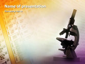 Technology and Science: Chemistry PowerPoint Template #01929