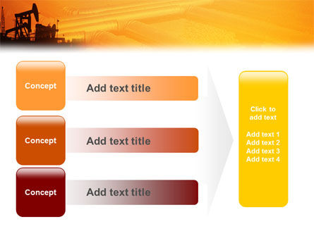 Oil Well PowerPoint Template Slide 12