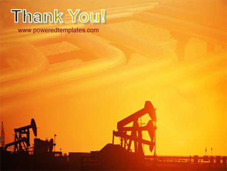 Oil Well PowerPoint Template Slide 20