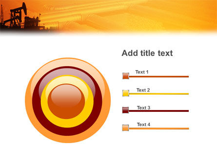 Oil Well PowerPoint Template Slide 9