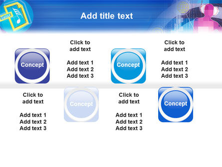 era of multimedia powerpoint template backgrounds 02305