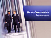 Evolution+of+business: Business Talk PowerPoint Template #02535
