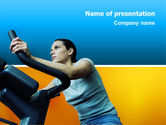 Sports: Sports Club PowerPoint Template #02600