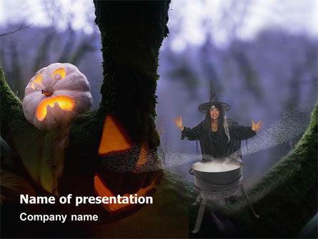 Free Witch PowerPoint Template